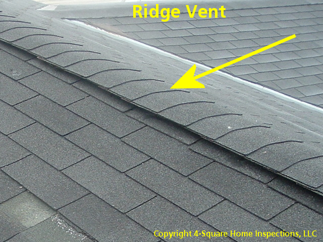 Ridge vents are probably the most popular type of a high venting product that is in use today. Itu0027s very effective but in our climate you need to make sure ... & Vent Your Attic and Protect Your Home - Wisconsin Home Inspector - 4 ...